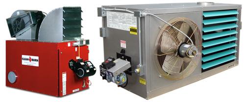 Системы отопления производственных помещений