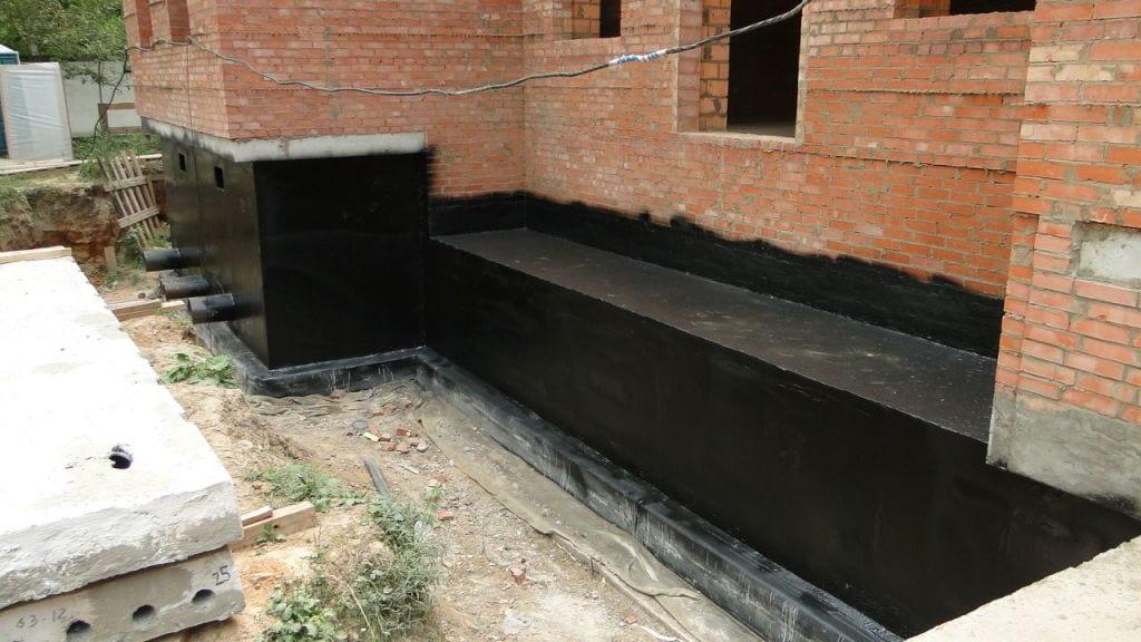 Гидроизоляция основания здания