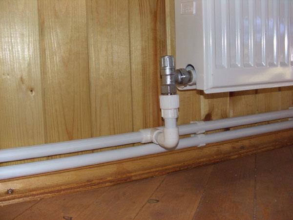 Монтаж двухтрубного отопления в частном доме своими руками