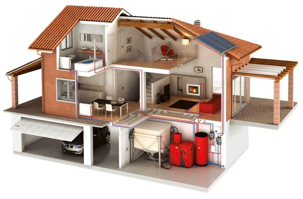 Дешевое отопление дома