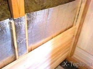 Как правильно утеплить баню, и какой материал нужно использовать.