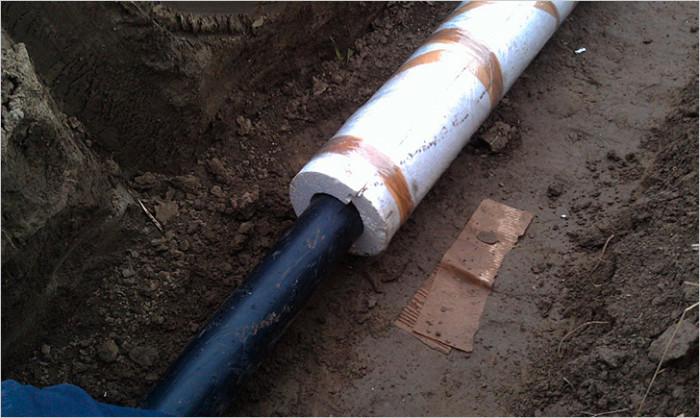 Утепление канализационных труб своими руками 555