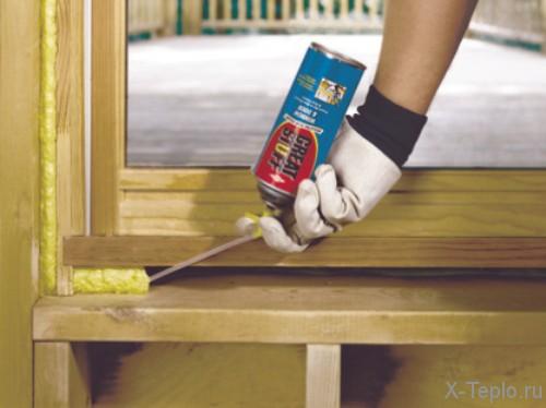 Утеплить окна деревянные своими руками