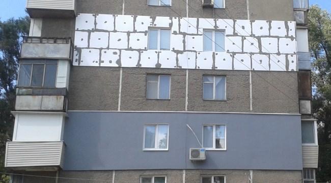 Колер для фасада по штукатурке