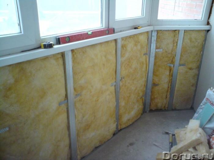 минвата как утеплитель для балкона