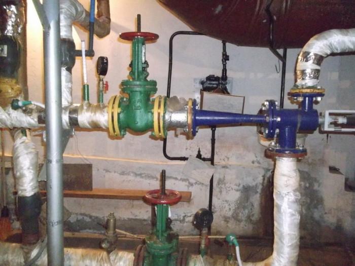 Независимая система отопления схема