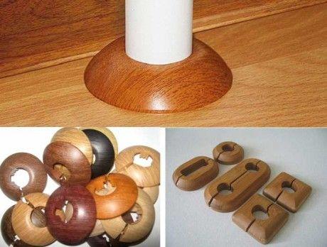 Декоративные накладки на трубы отопления