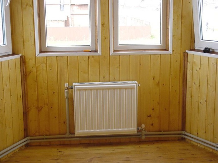 Схема подключения радиаторов отопления при однотрубной системе