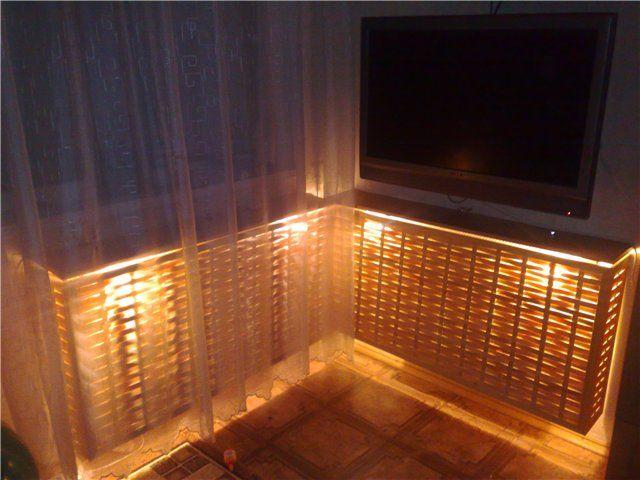 Декор для радиатора отопления