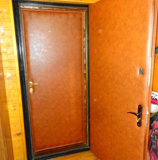 Утепление дверного проема входной двери