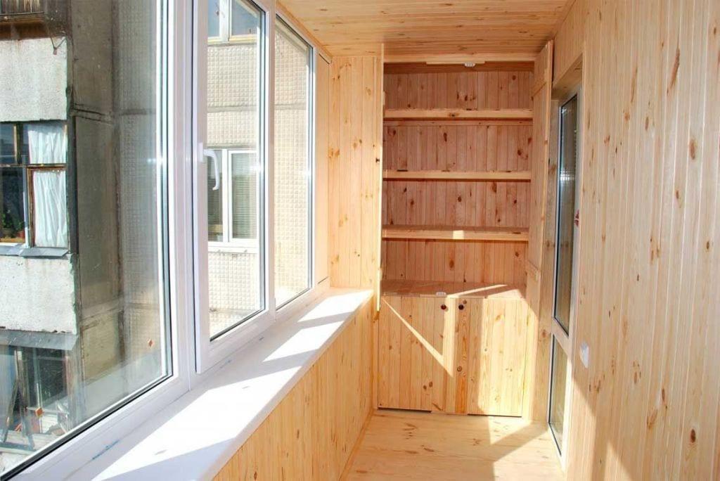 Утепление и отделка балкона, обшивка стен своими руками, фот.