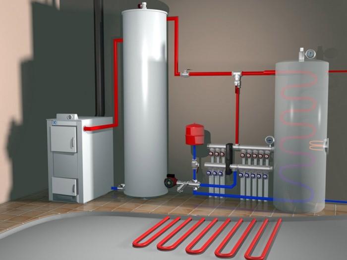 Замена теплоносителя в системе отопления своими руками 6