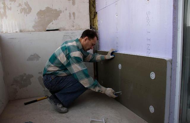 Мокнут и промерзают стены