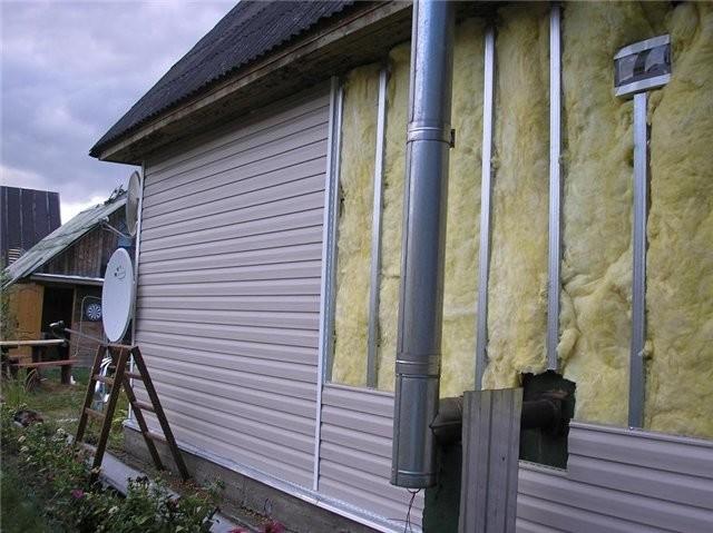 Материалы для отделки фасадов сайдингом