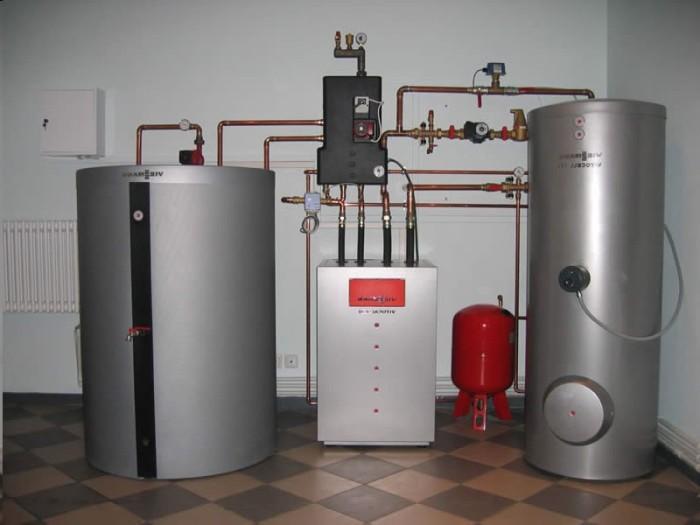 Газовая система отпления