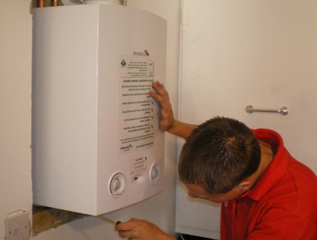 Подключение напольного газового котла к системе отопления