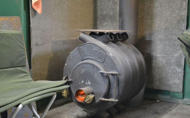 Печка буржуйка на газу