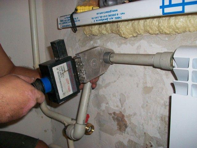 Пайка системы отопления своими руками