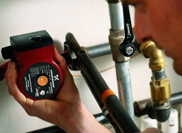 Установка насоса в систему отопления частного дома