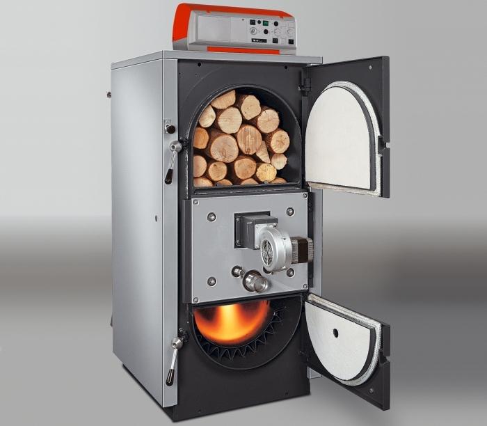 Котлы длительного горения на твердом топливе