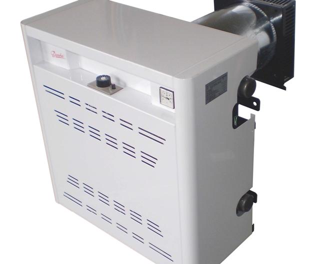 Настенный (парапетный) газовый котел