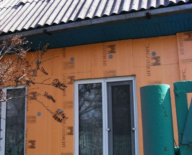 Утепление деревянного дома снаружи пеноплексом