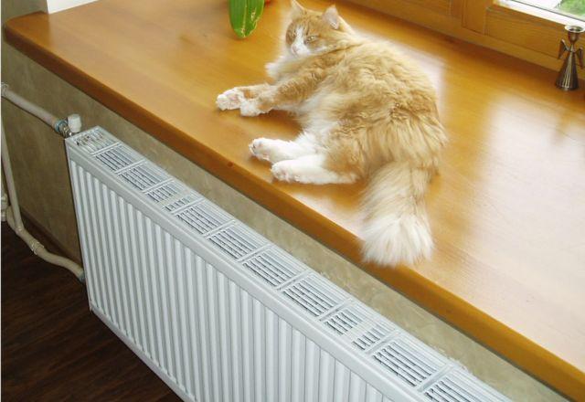 Радиатор в доме