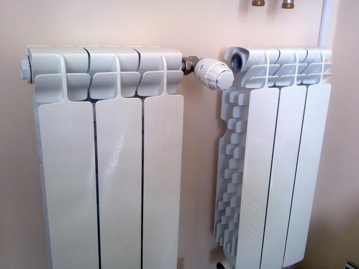 Как установить алюминиевый радиатор