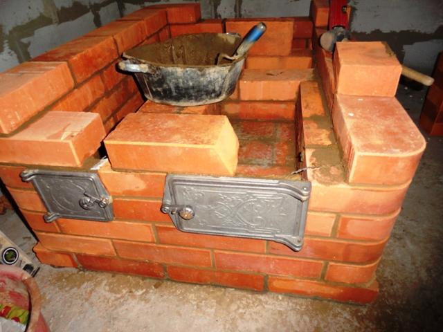 Как построить печку в доме своими руками