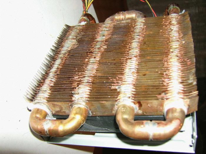 Медные радиаторы отопления своими руками