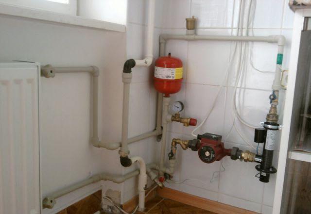 Энергосберегающая отопительная установка для водяного