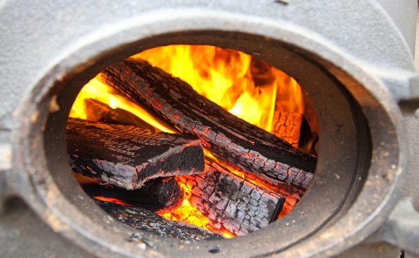 Самодельный дровяной котел длительного горения
