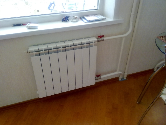 Теплоотдача радиаторов отопления: таблица